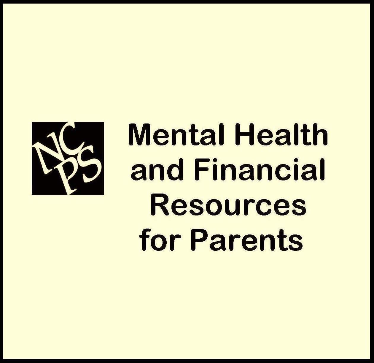 Mental Health and Financial Resources