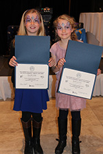 South Fourth Grade Award Winners Rory McCarthy (Music) and Maddie Ernst (Art)