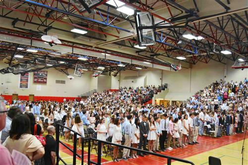 Saxe Students Celebrate Promotion Ceremony