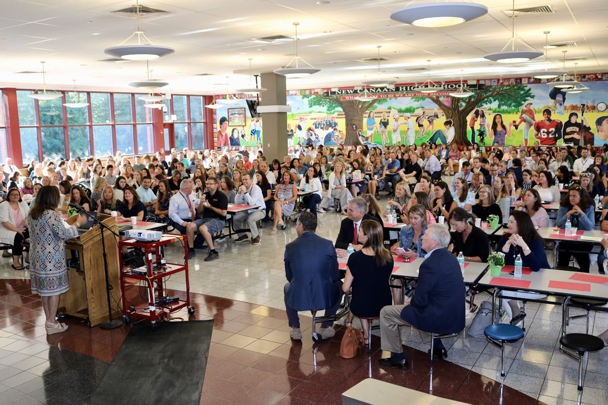 Convocation brings teachers, faculty and administrators together