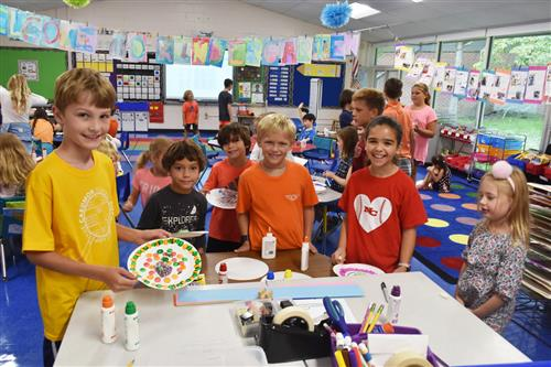 West Elementary School celebrates International Dot Day