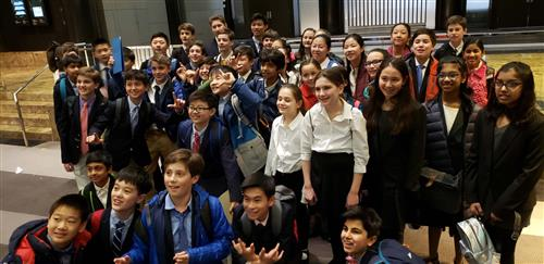 Saxe Middle School Model UN Club