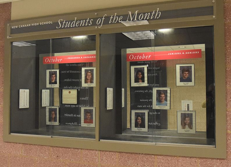 NCHS Students of the Month - October 2018