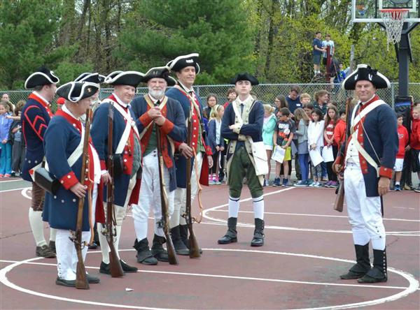 Colonial Day takes Saxe students back in time