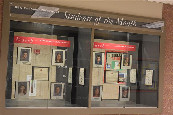 NCHS recognizes March Students of the Month