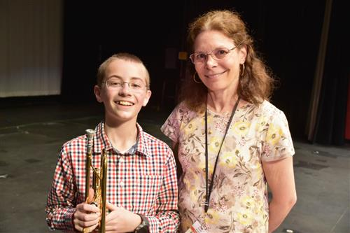 Saxe middle school composer