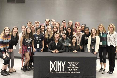 NCHS Choir with Eric Whitacre