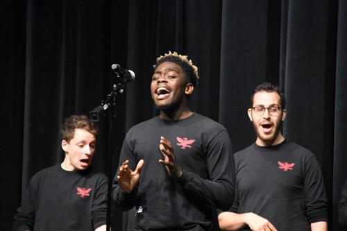 Yale Whiffenpoofs perform