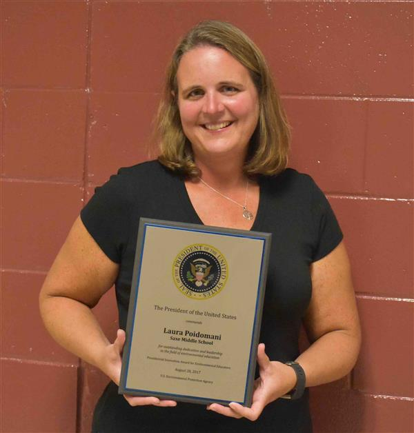 Science Teacher earns national honor