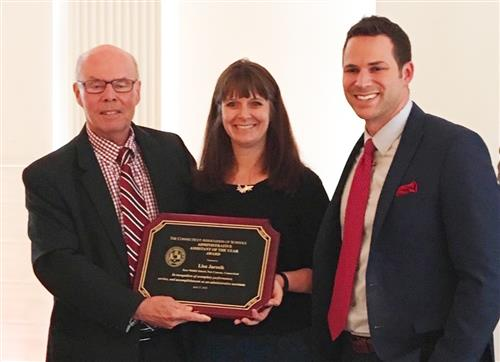 Lisa Jarosik named Administrative Assistant of the Year