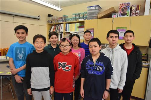 Saxe Middle School Math Team