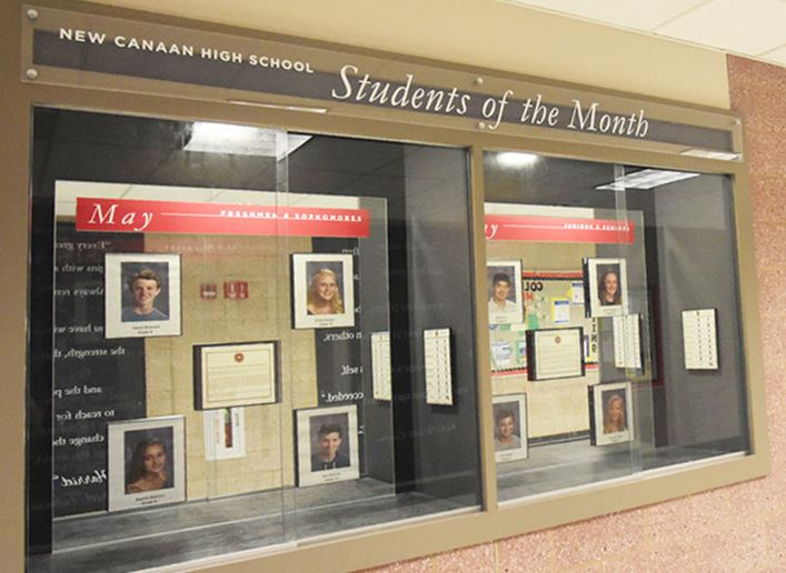 NCHS recognizes May Students of the Month