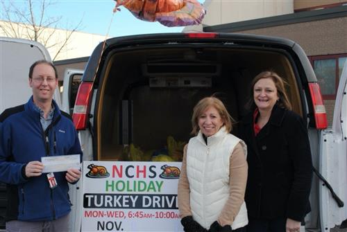 NCEA donated to Turkey Drive