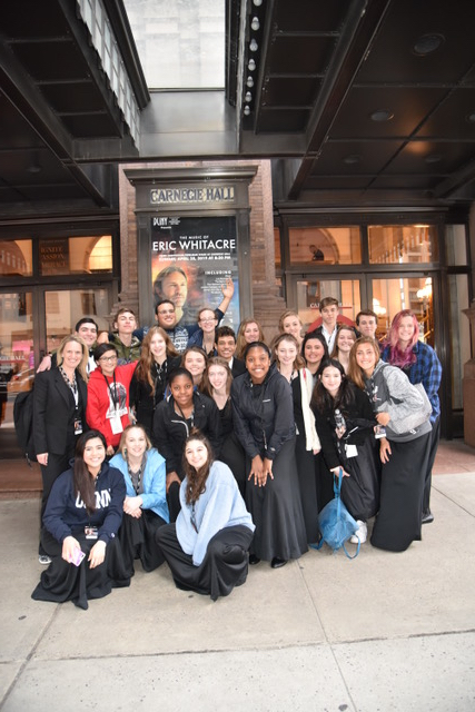 NCHS Choir at Carnegie Hall