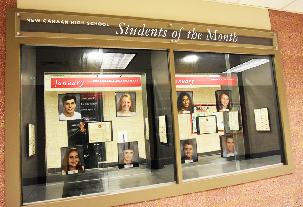 NCHS recognizes January Students of the Month
