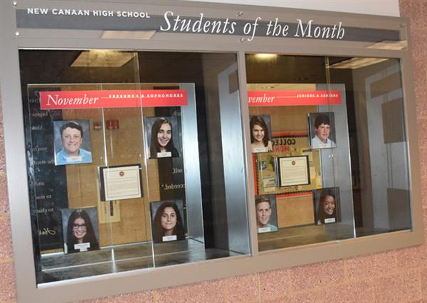 NCHS recognizes Students of the Month
