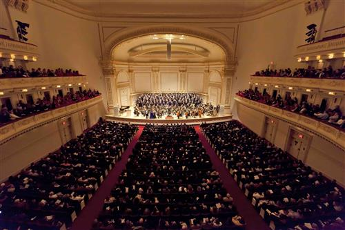 NCHS Choral Program at Carnegie Hall