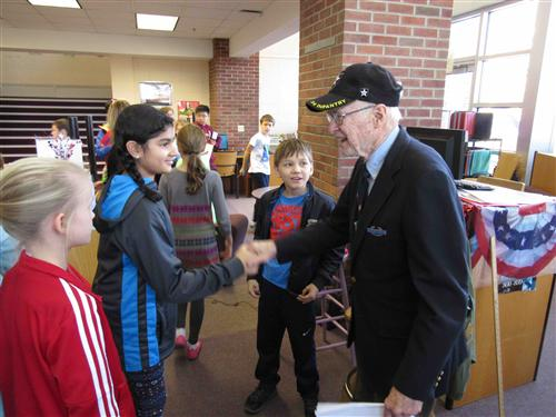 New Canaan Public Schools Honors Our Veterans on Veterans Day with Special Programming throughout the District