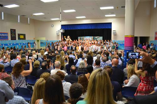 New Canaan's 4th Graders on the Move