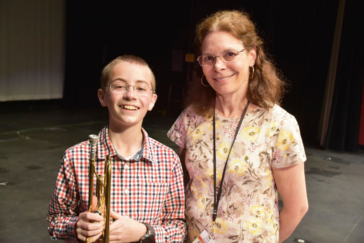 Sixth grader's composition to be performed by Saxe Middle School Band