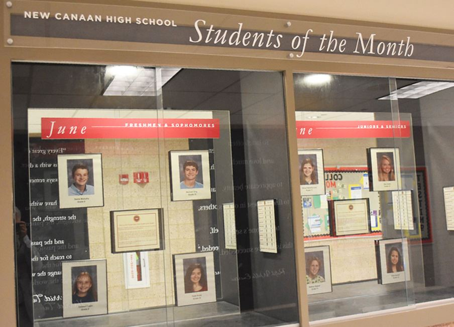 NCHS recognizes June Students of the Month