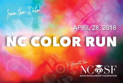 COLOR RUN!! APRIL 28, 2018