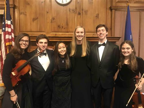 NCHS classical musician in Norwalk Youth Symphony
