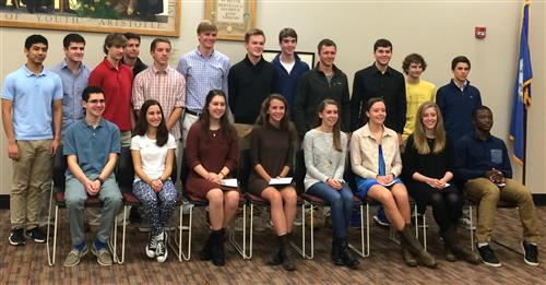 Students Honored at NCHS National Merit Honor Ceremony
