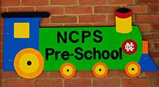NCPS Preschool sign at West School
