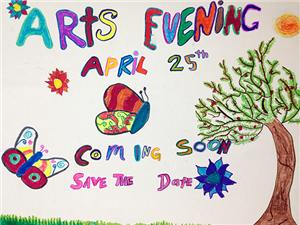 image of Arts Evening Poster