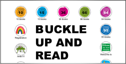 buclke up and read from the New Canaan Library
