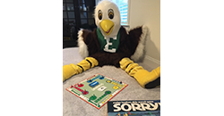 East Eagle with board games