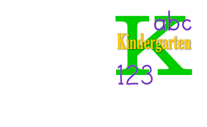 image of letter K and numbers