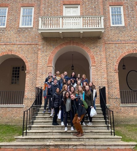 Model UN Students at William and Mary