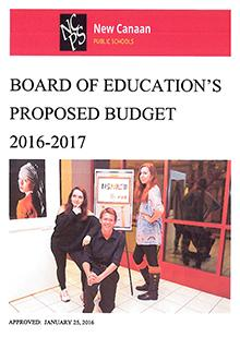 Cover of BOE Proposed Budget 2016-2017 1.25.16