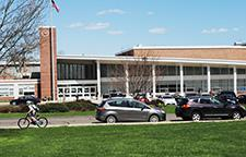 front view of Saxe Middle School