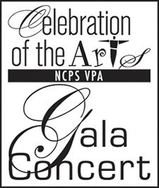 NCPS Celebration of the Arts Concert Gala logo
