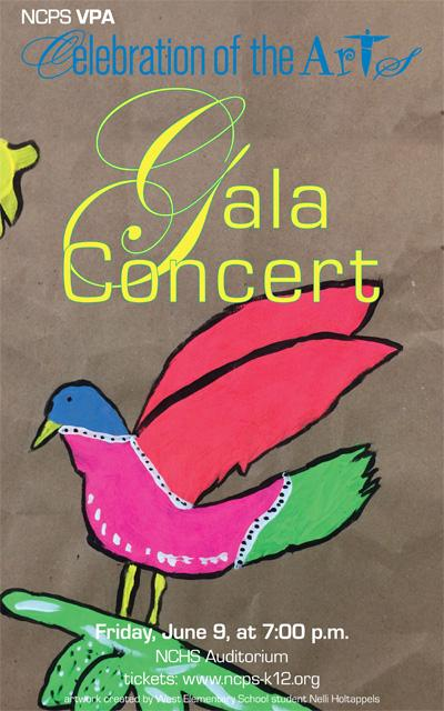 Gala Concert Poster